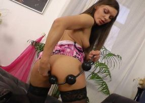 Порно AdultLabs Flawless Slut Get Fucked In Her Tight Butt